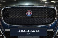 Jaguar XF car. Royalty Free Stock Photos