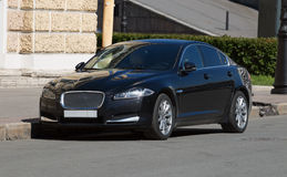 Jaguar XF. Luxury British car Jaguar XF outside St. Petersburg Stock Photography
