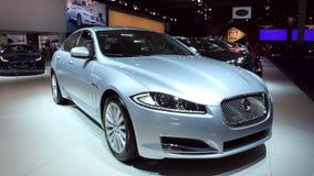 Jaguar XF saloon car stock footage
