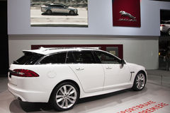 Jaguar XF Sportbrake World Premiere Stock Photo