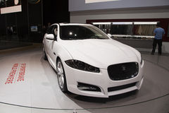 Jaguar XF Sportbrake World Premiere Royalty Free Stock Images