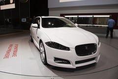 Jaguar XF Sportbrake World Premiere royalty free stock images