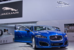 Jaguar XFR Speed Pack Royalty Free Stock Photography