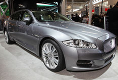 Jaguar XJ Royalty Free Stock Image