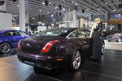 Jaguar XJ Stock Photos