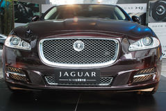 Jaguar  xj 5.0 Royalty Free Stock Photo