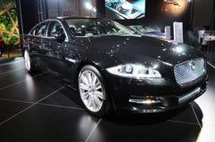 Jaguar xj 5.0l v8 stock images