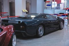 Jaguar XJ220 Photo libre de droits