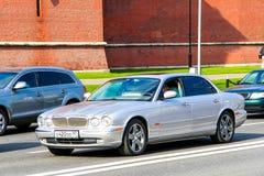 Jaguar XJ Fotografering för Bildbyråer