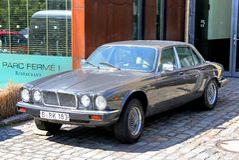 Jaguar XJ Stock Photography