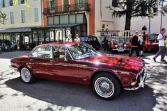 Jaguar XJ Royalty Free Stock Photo