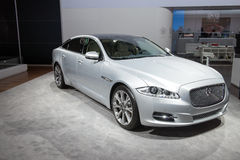 Jaguar XJ - world premiere Royalty Free Stock Photos