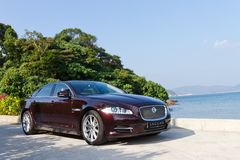Jaguar XJL 2012 Stock Photos