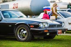 Jaguar XJS - automobile classica Fotografia Stock