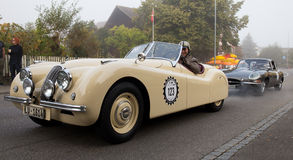 Jaguar XK 120 Images stock