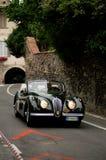 Jaguar XK120 at Bergamo Historic Grand Prix 2015 Royalty Free Stock Photography