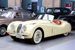 Jaguar XK150 Royalty Free Stock Photo