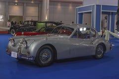 Jaguar XK 140 1956 bil Arkivfoto