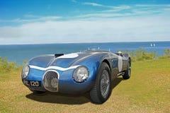 Jaguar xk c-type racing roadster ecurie ecosse Stock Photo