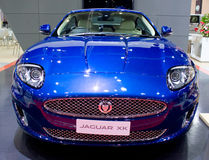The Jaguar XK Car. Royalty Free Stock Photo