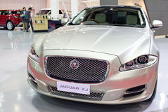 The Jaguar XK Car. stock images