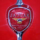 Jaguar XK140 Classic Trunk Badge Stock Image