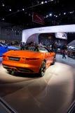 Jaguar XK Convertible rear Royalty Free Stock Photos