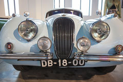 Jaguar XK120 FHC 1954 Images stock