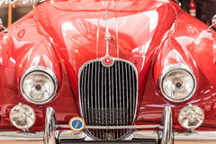 1957 Jaguar XK150 Front View Royalty Free Stock Image