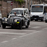 JaguarXK 120 Lightweight1950 mille miglia 2014 Stock Photos