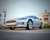 Jaguar luxury sport car Royalty Free Stock Photography