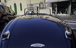 The Jaguar XK120 oldtimer Royalty Free Stock Photography
