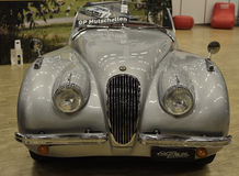 Jaguar XK120 OTS from 1952 old car. Royalty Free Stock Image