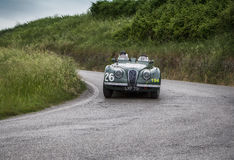 JAGUAR XK 120 OTS sporty 1950 Obraz Stock