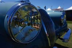 Jaguar XK120 skyddsgaller arkivfoton