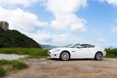 Jaguar XK 2012 Stock Photography