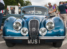 Jaguar XK120 Royalty Free Stock Images