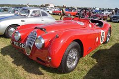 Jaguar XK140 Royalty Free Stock Photography