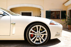 Jaguar Xkr Fotografia de Stock Royalty Free