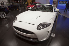 Jaguar XKR-S Convertible stock photography