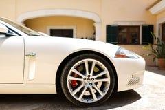 Jaguar XKR Royalty Free Stock Photography