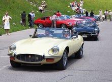 Jaguara samochód Obrazy Royalty Free