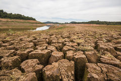 Jaguari Reservoir - Cantareira System - Vargem/SP  Royalty Free Stock Photography
