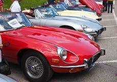 Jaguars car Stock Photography