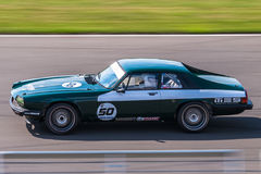 Jaguraxjs raceauto Stock Afbeeldingen