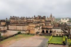 Jahangir Mahal maharaja palace, Orchha, India Stock Photos