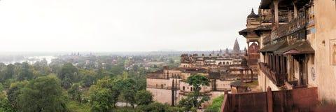 Jahangir Mahal maharaja palace, Orchha, India Stock Photography