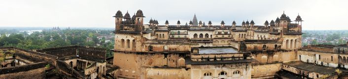 Jahangir Mahal maharaja palace, Orchha, India Royalty Free Stock Photography