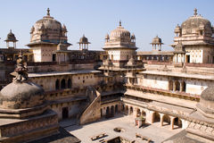 Jahangir Mahal, Orcha Fotografia Stock Libera da Diritti