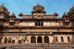 Jahangir Mahal or Orchha Palace Stock Photos